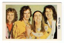 1970s Swedish Pop Star Card #739 Glam Rock Band Slade Noddy Holder Dave Jim Don