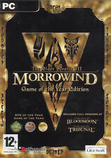 The Elder Scrolls III: Morrowind GOTY + Arena + Daggerfall PC (XP Vista 7 8 10)