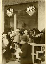"""""""Vitrine de jouets MAGASINS PARISIENS 1931"""" Photo originale G. DEVRED (Agce ROL)"""