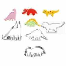 Steel Decorating Cutter Pastry Mould Cake Frame Dinosaur Cookies Mold Fondant