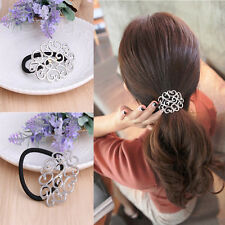Fashion Women Elastic Hair Ties Band Ropes Ring Ponytail Holder Accessories