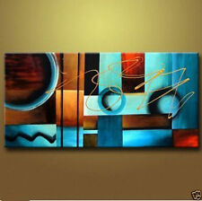MODERN ABSTRACT HUGE WALL ART OIL PAINTING CANVAS (no frame)