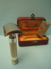 Rasoir  LERESCHE FRANCE   Safety Razor Rasiermesser ( no kirby no gillette )