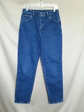 RIDERS MEDIUM WASH FLAT FRONT FIVE POCKET STYLE STRAIGHT LEG JEANS SZ 10P #T32