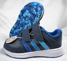 ADIDAS SNICE 4 CF I NAVY/BLUE/AQUA TODDLER BOYS/GIRLS SHOES SIZE 8