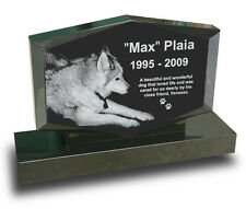 Diamond Upright Pet Headstone Grave Marker for Dogs & Cats