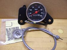 NOS Vintage Rockford Tora Motorcycle Minibike Speedometer Assembly Kit