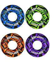 """47"""" XTREME SWIM RING INFLATABLE TYRE TUBE POOL WITH HANDLES CHOICE COLOURS"""