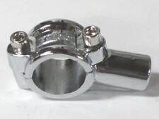 "Handlebar clamp 7/8"" bar end clamps threaded 10mm mirror motorcycle"