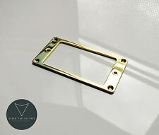 Metal Humbucker Pickup Mounting Ring Surrounds (Gold) New