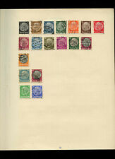 Germany Album Page Of Stamps #V4045