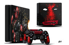 Decal Skin Wrap For PS4 Slim Playstation 4 SLIM Console & Controller Stickers DP