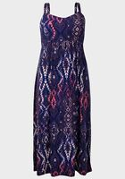 New Ladies Faded Glory Thick Strap Maxi Dress Sizes 16 18 20 22 24 26 28 30