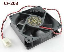 2-Pin 80mm CPU Case / Power Supply Sleeve Bearing Cooling Fan - CF-203