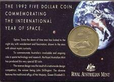 1992 $5 Australia Commememorative International Year Of Space