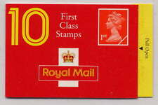 GB 1993 10 x 1st CLASS BARCODE BOOKLET HD9a