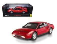 ELITE FERRARI MONDIAL 3.2 RED 1:18 DIECAST MODEL CAR BY HOTWHEELS P9889