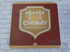 Beer Coaster ~*~ CHIMAY Authentic Trappist Brewery Bier Biere ~ Baileux, BELGIUM