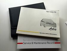 VAUXHALL & OPEL ASTRA SERVICE BOOK HANDBOOK & WALLET PACK - 1998 To 2005