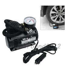 New 12V Electric Car Tyre Air Compressor with 2 Nozzle adapter Pressure Pump
