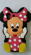 IT- PHONECASEONLINE SILICONE COVER PER CELLULARI S MINNIE PINK PARA HUAWEI Y6