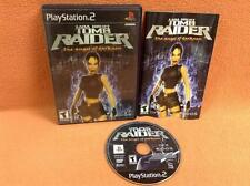 Tomb Raider Angel of Darkness Playstation 2 PS2 Game FREE SHIP Complete!