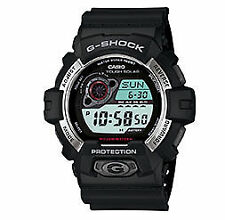Casio Men's GR8900-1 Tough Solar G-Shock Digital Black Resin Watch