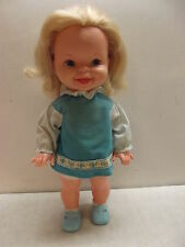 VINTAGE 1972 MATTEL CATHY QUICK CURL DOLL W DRESS & SHOES