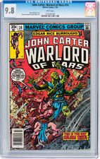John Carter, Warlord of Mars #14 (Marvel 1978) CGC 9.8 NM/MT  - WHITE PAGES