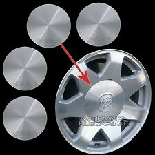 "02-06 Cadillac Escalade 17"" Aluminum Wheel Center Hub Caps 6 Lug Rim Cover Hubs"