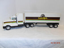 NYLINT Overnight Express LOUIS RICH 18-Wheeler Semi Truck-Look