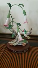 HOME INTERIOR HOMCO 1990 MASTERPIECE HUMMINGBIRD NATURE'S WINGED JEWEL FIGURINE