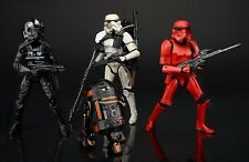 "Star Wars 6"" Black Series Set 4 Imperial forces with crimson stormtrooper NEW DE"