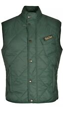MATCHLESS Grove Gilet Mens Slim Fit Quilted Vest British Green Large L $495