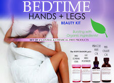 Bedtime Hands and Legs Beauty Natural Chemical Free Kit For Women Set of 4