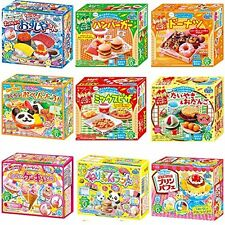 JAPANESE Kracie Popin Cookin 9 Item Bundle Sushi Hamburger Bento pizza Cakes