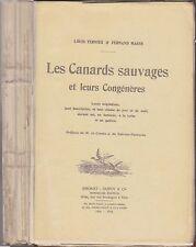 Les Canards Sauvages et leurs Congénères, Migrations Chasse, Ternier, Masse 1922