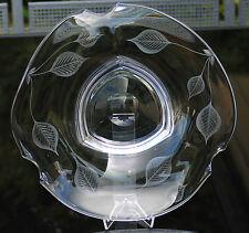 """Exclusive Glasschale """" Peill & Putzler """" !!! 60er - 70er Jahre - Signiert !!!"""