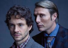 Hannibal Hugh Dancy Mads Mikkelsen AFFICHE