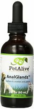 PETALIVE ANALGLANDZ HELPS ANAL GLAND PROBLEMS DOGS CATS