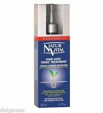 NATURVITAL Hairloss Tonic Treatment 200ml  fight the symptoms of Hair loss