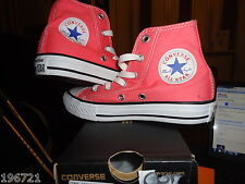 CONVERSE GIRLS PINK HI TOP TRAINERS BNIB UK 1 EU 33