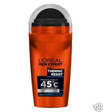 3 x L'oreal Men Expert Thermic Resist Anti-Perspirant Deodorant Roll On 50ml