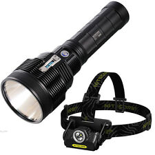Nitecore TM36 Searchlight 1800 Lumens w/ FREE HA20 Headlamp