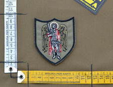 """Ricamata / Embroidered Patch """"Saint Michael"""" with VELCRO® brand hook"""
