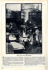 Vom Erz zum Walzblech Industrie-Fotographie von W.Roerts Hannnover c.1929