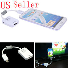 Micro USB MHL to HDMI 1080P HD TV Cable Adapter For Samsung Galaxy S3 S4 S5
