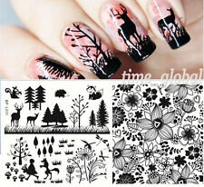 BORN PRETTY Nail Art Stamping Plate Tree Flower Animal Image Template BP-L011