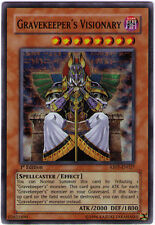 3x (M/NM) Gravekeeper's Visionary - ABPF-EN027 - Super Rare - 1st Edition  YuGiO