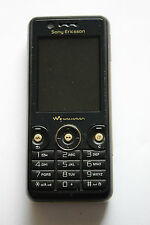 Sony Ericsson W660i Walkman Record black (Unlocked) Mobile Phone Good Condition